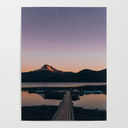 Oregon Lake Poster