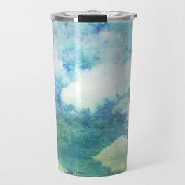 Partly cloudy Travel Mug