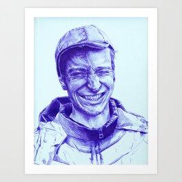 Mark Hero Art Print