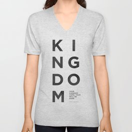 Kingdom Come - Wash Unisex V-Neck