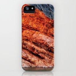 Orange rock - Greg Katz iPhone Case