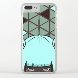 Sky Moss Clear iPhone Case
