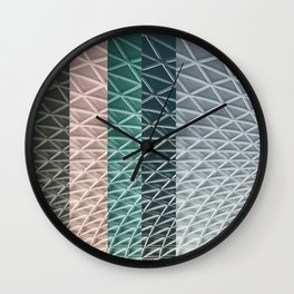 CANOPY COLLAGE 01C  Wall Clock