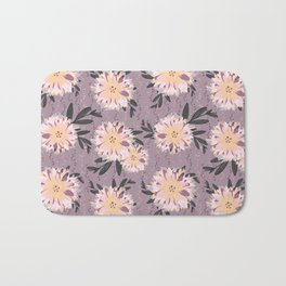 Fancy Floral Bath Mat