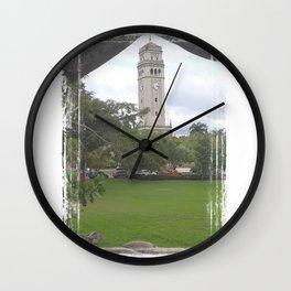 The UPR main tower - Rio Piedras Puerto Rico Wall Clock
