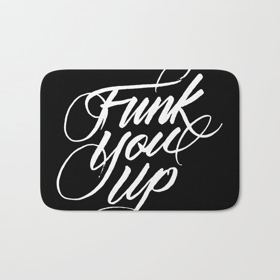 Funk You Up Bath Mat