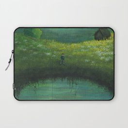 Techie in Paradise Laptop Sleeve