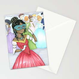 At The Masque Stationery Cards