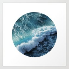 Wave 6 Art Print