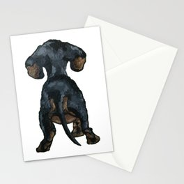Little Dachshund Stationery Cards