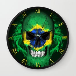 To The Core Collection: Brazil Wall Clock