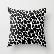 Leopard Polka Throw Pillow