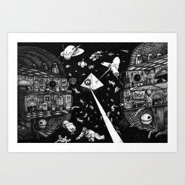 Containment Breach Art Print