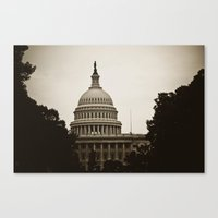 dc Canvas Prints featuring DC by StudioArielle.com