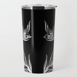 Sparrows and Ferns Travel Mug