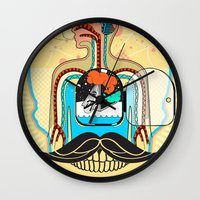 body Wall Clocks featuring body by danta