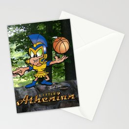 Little Athenian Basketball Stationery Cards