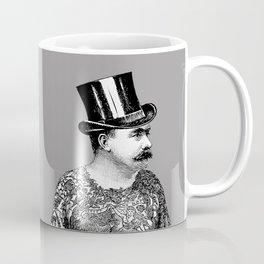 Tattooed Victorian Man Coffee Mug