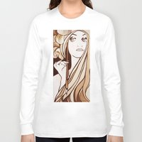 mucha Long Sleeve T-shirts featuring My Mucha by Little Bunny Sunshine