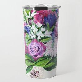 Natalie's Bouquet Travel Mug
