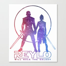 Reylo will rule the galaxy! Canvas Print