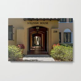 Sullivan House Rollins College Campus Winter Park Central Florida Orlando Metal Print