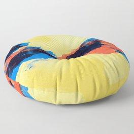 Tectonic Floor Pillow