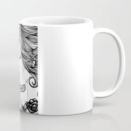 ROSE B&W Coffee Mug