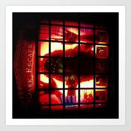 Dark Escape: Reflection Art Print