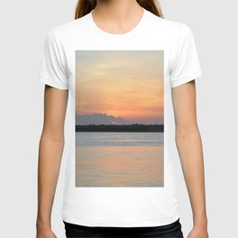 another sunset from Topsail T-shirt