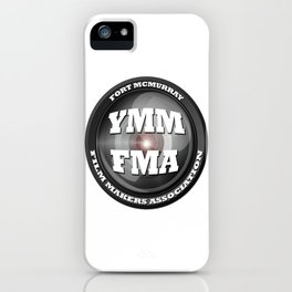 Fort McMurray Film Makers Association iPhone Case