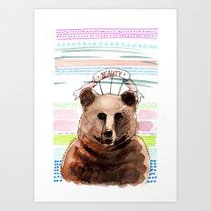 BEAUTY / Nr. 2 Art Print