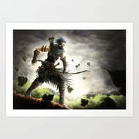 Ranger of the Numerian Woods Art Print