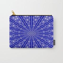 Chakra Mandala (lapis blue) Carry-All Pouch