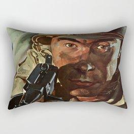 Don't Get Hurt Rectangular Pillow