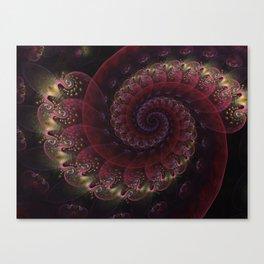 Twists and Twirls Canvas Print
