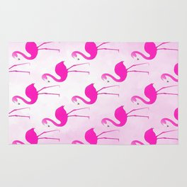 Seamless Flamingo Rug