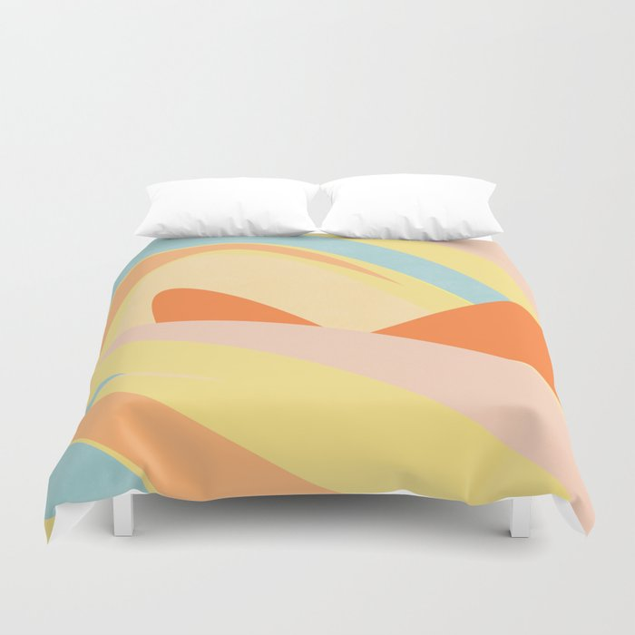 The Dunes - Abstract Landscape Duvet Cover