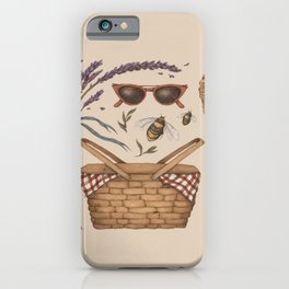 Summer Picnic Collection iPhone Case