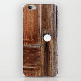 Cabin Door iPhone Skin