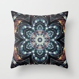 Mandalas from the Voice of Eternity 4 Throw Pillow