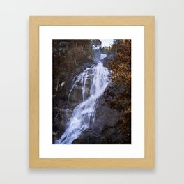 Tranquility Of Creation - Waterfall Art Framed Art Print