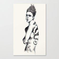 Salander II Canvas Print