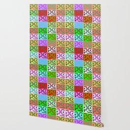 Patternless-squares-pattern Wallpaper