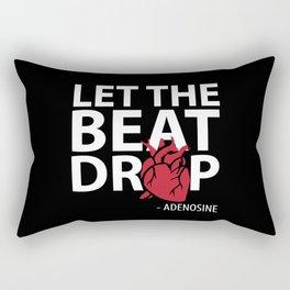 Funny Nursing Gifts Let The Beat Drop Adenosine Gift Rectangular Pillow