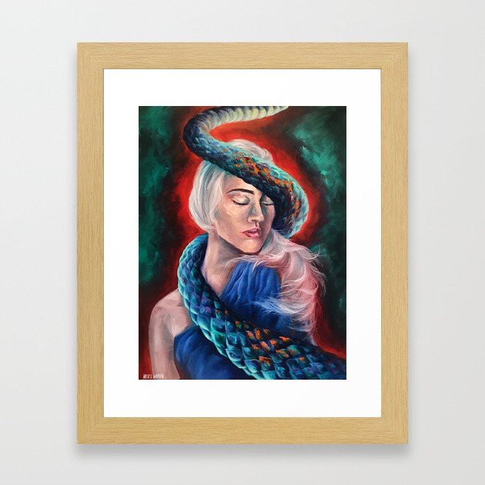 """""""Lilith"""" Painting Framed Art Print"""