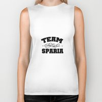 pretty little liars Biker Tanks featuring PLL  - Team Sparia ( Pretty Little Liars ) by swiftstore