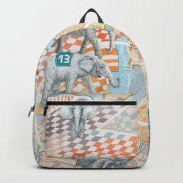 Elephant football game Backpack