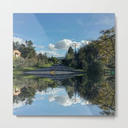 Around the Bend v2.0 Metal Print
