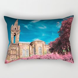 Gothic style chapel Rectangular Pillow